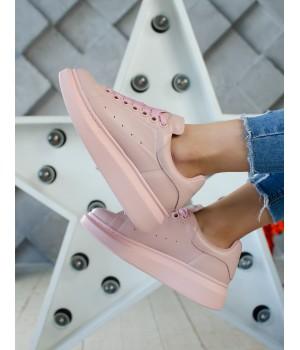 Кроссовки Alexander McQueen Pink