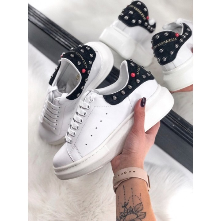 Кроссовки Alexander McQueen White/Black