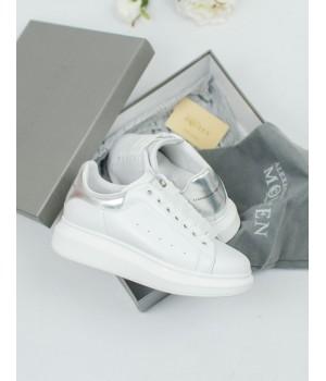 Кроссовки Alexander McQueen White/Silver