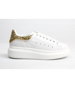Кроссовки Alexander McQueen WHITE/GOLD
