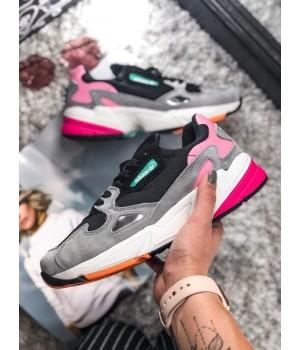 Кроссовки Adidas Falcon Black/Grey