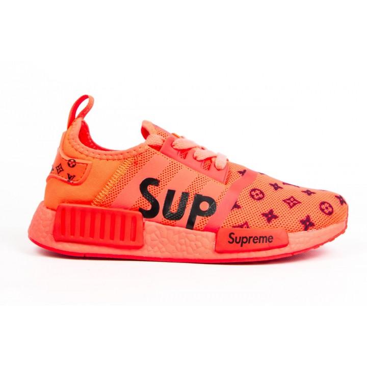 Кроссовки женские Adidas Supreme Orange