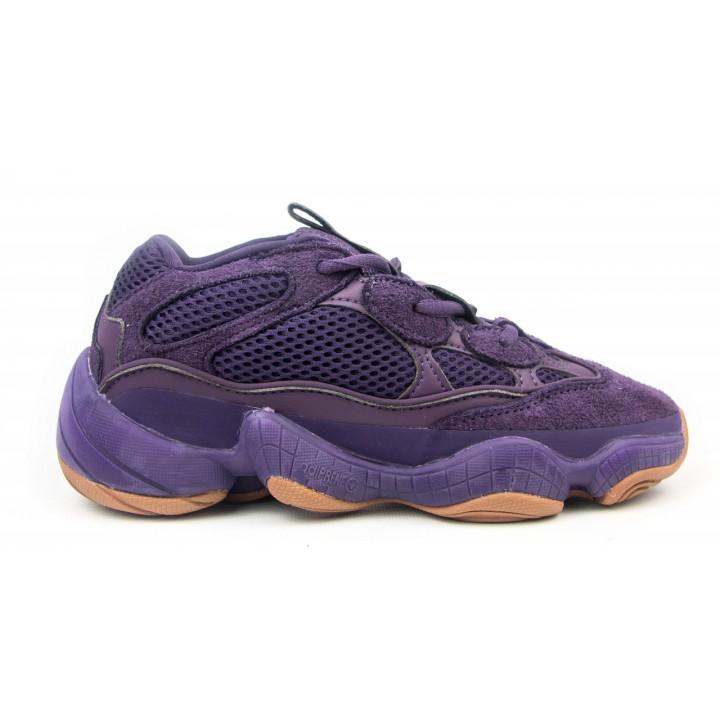 Кроссовки женские Adidas Yeezy 500  Purple