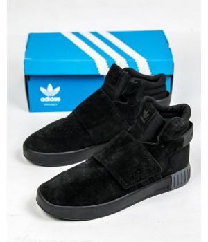 Кроссовки мужские Adidas Tubular Invader Strap Black