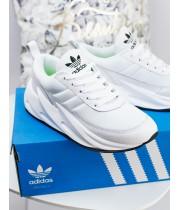 Женские кроссовки Adidas Sharks White