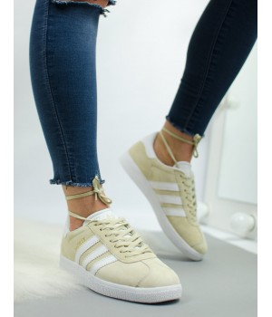 Кроссовки Adidas Gazelle Beige