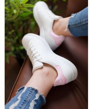 Кроссовки Adidas Stan Smith White/Pink