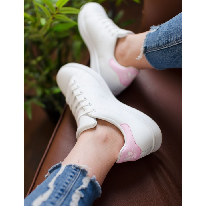 Кроссовки Adidas Stan Smith White/Pink