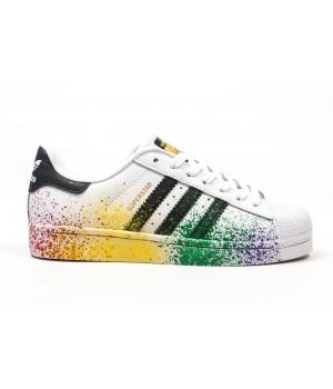 Кроссовки Adidas Superstar Paint