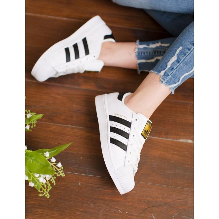 Кроссовки Adidas Superstar White/Black