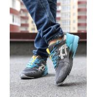 Мужские кроссовки Asics Gel lyte Gray/Blue