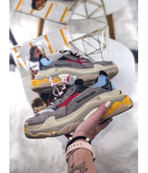 Кроссовки Balenciaga Triple S Gray Blue