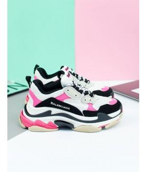 Кроссовки Balenciaga Triple-S Pink/White