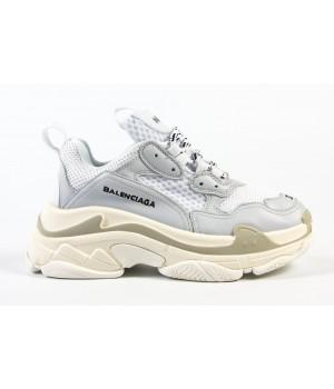"Кроссовки Balenciaga Triple-S ""Grey/White/Beige"""