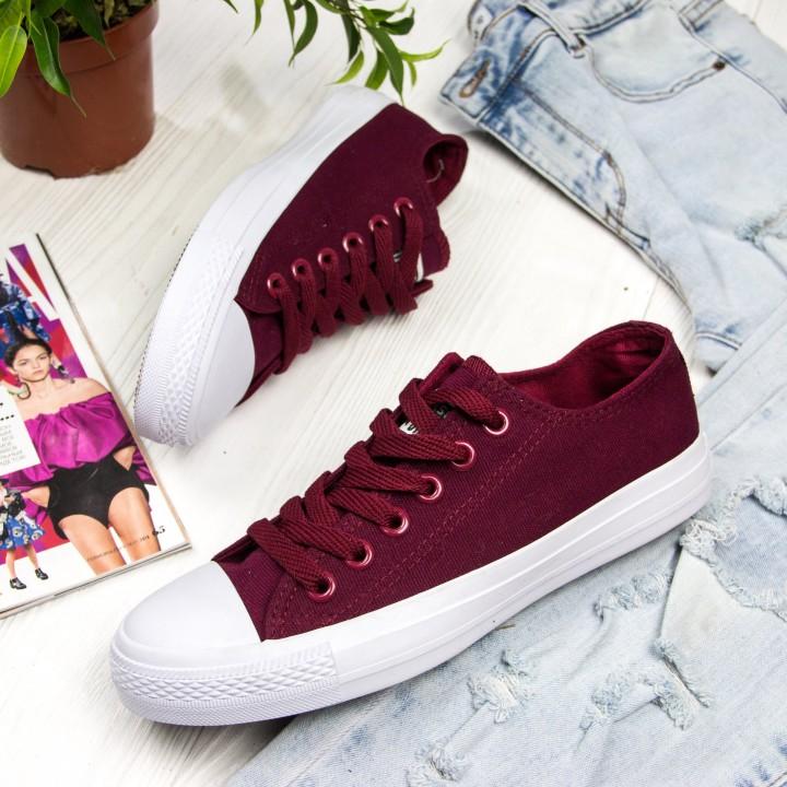 Кроссовки Converse burgundy mono