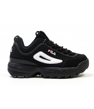 "Кроссовки Fila Disruptor II ""Black/White"""