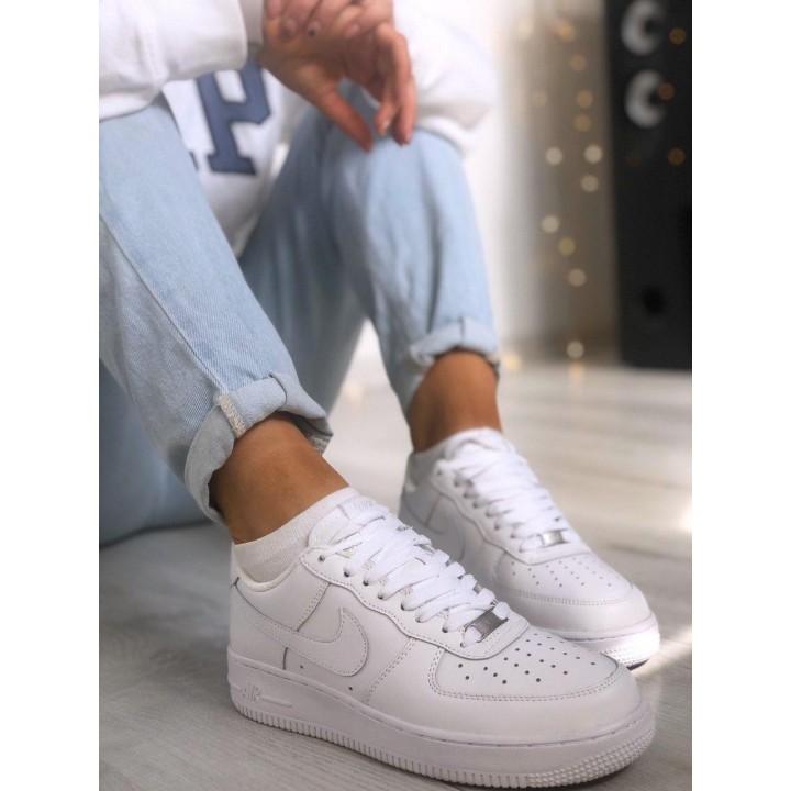 Женские кроссовки Air Force 1 White