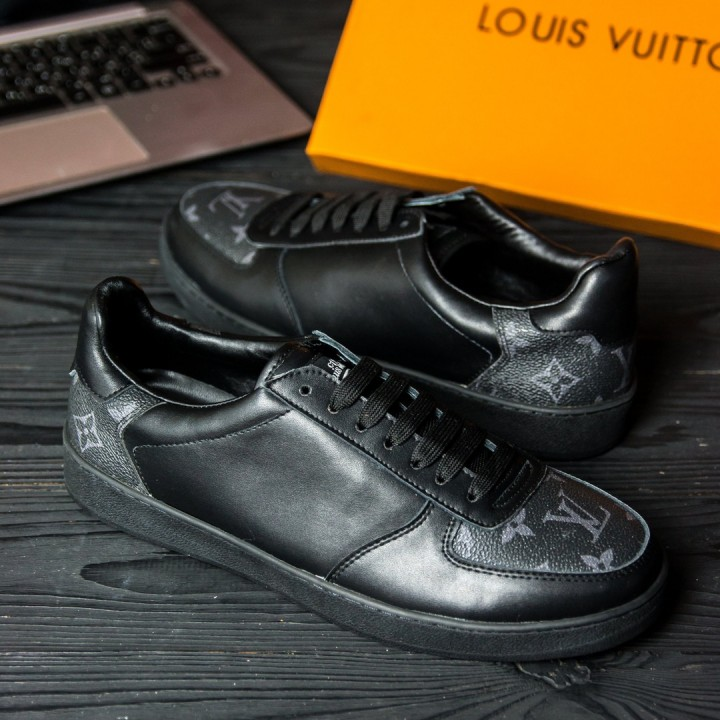 Кеды мужские Louis Vuitton Black