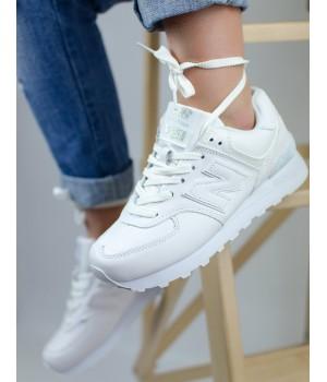 Кроссовки женские New Balance 574 White