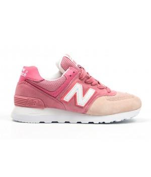 Кроссовки New Balance 574 beige/pink