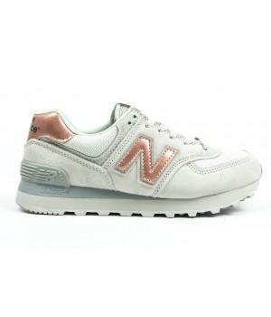 Кроссовки New Balance 574 light grey/bronze