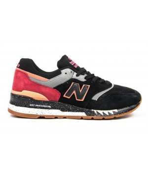Кроссовки New Balance 997 black/red/grey