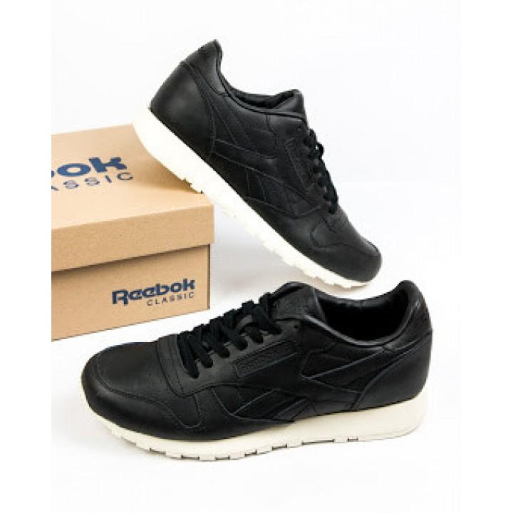 Мужские кроссовки Reebok Сlassic Black/White