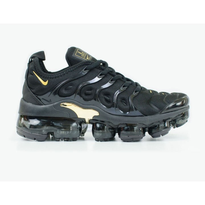 Кроссовки женские Nike Air Vapormax Plus Black/Gold