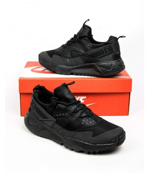 Мужские кроссовки Nike Air Huarache Black