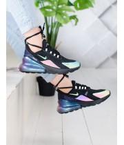 Кроссовки Nike Air Max 270 Black Светоотражающие