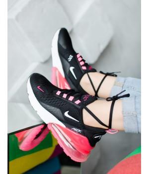 Кроссовки Nike 270 Black/Pink