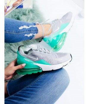 Кроссовки Nike Air Max 270 Grey/Green