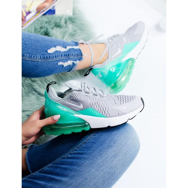 Кроссовки Nike Air Max 270 Grey/Green