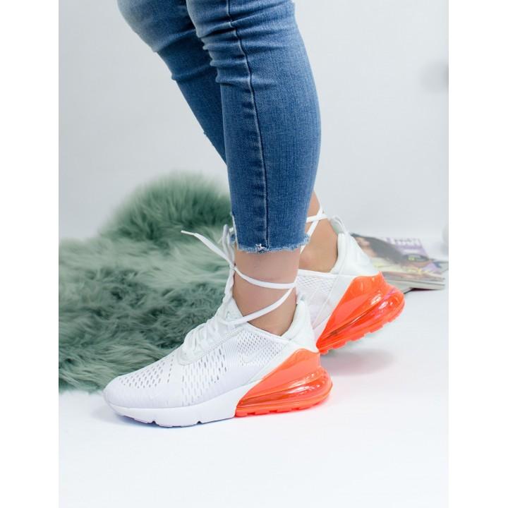 Кроссовки Nike Air Max 270 White Orange