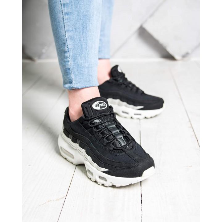 Кроссовки Nike Air Max 95  Silver-Black