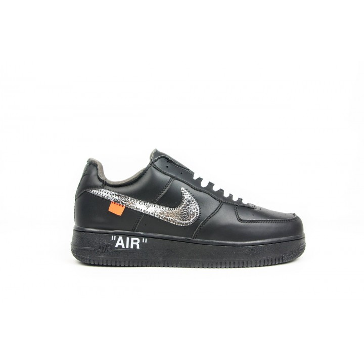 Кроссовки мужские Nike Air Force, Black Silver