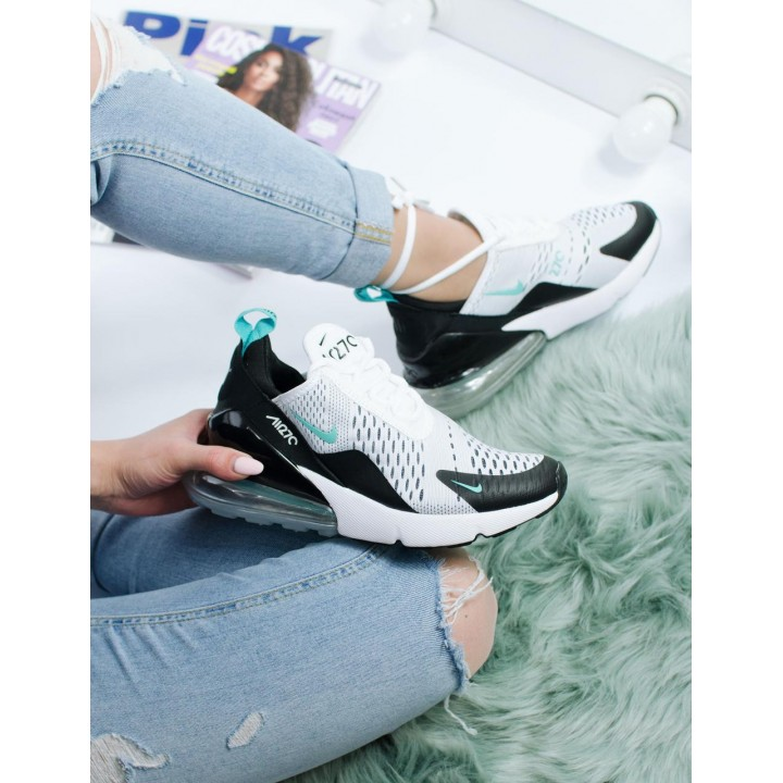 Кроссовки Nike Air Max 270 White Black