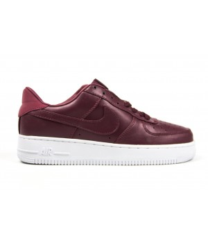 Кроссовки Nike Air Force Maroon&White