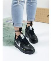 Кроссовки женские Nike Air Force Black