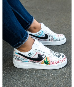 Кроссовки Nike Air Force Print