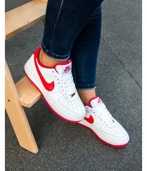 Кроссовки  Nike Air Force Red/White
