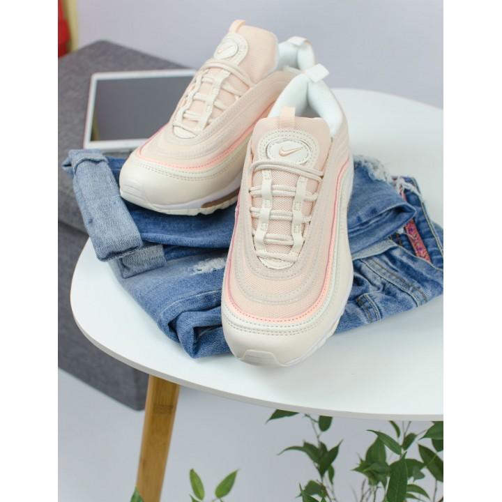 Кроссовки Nike Air Max 97 beige/pink