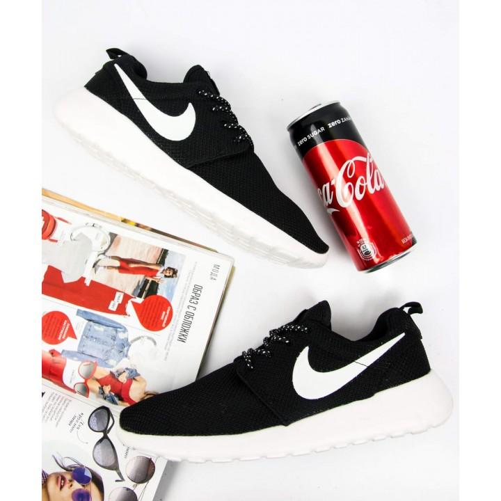 Кроссовки мужские Nike Roshe Run Black/Blue