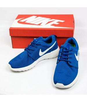Кроссовки  Nike Roshe Run Blue/White
