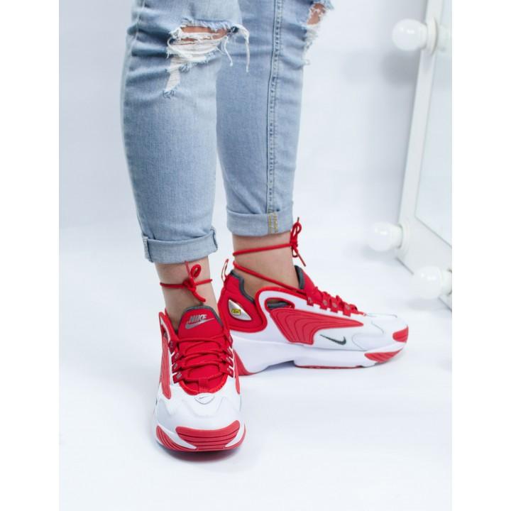 Женские кроссовки  Nike Zoom 2K White/Red