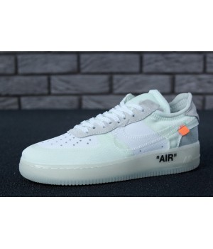 Мужские кроссовки Nike Off-White X Nike Air Force