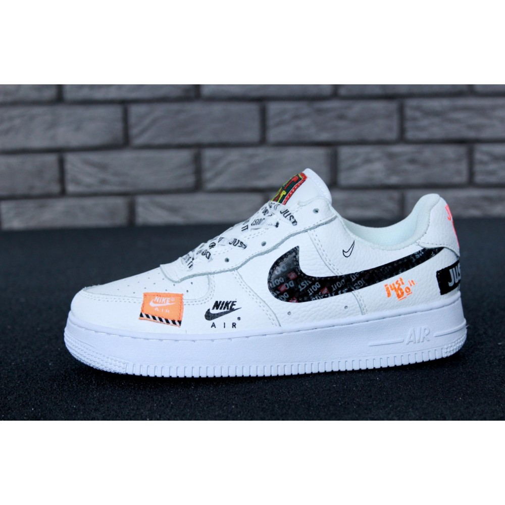 d32a1af1 Мужские кроссовки Nike Air Force 1 Low Just Do It Pack White 11646 ...