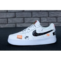 Мужские кроссовки Nike Air Force 1 Low Just Do It Pack White