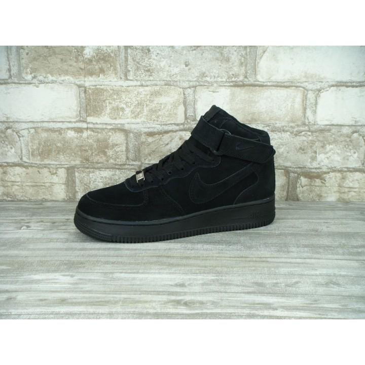 Мужские кроссовки Nike Air Force Black