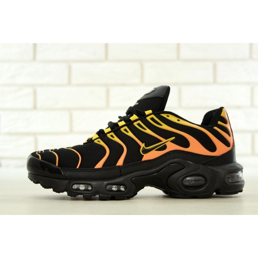 c4348f71 Мужские кроссовки Nike Air Max TN Plus Black/Orange/Yellow 11300 от ...